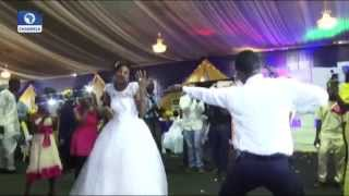 Metrofile: Is This The Most Hyper Nigerian Groom Ever???