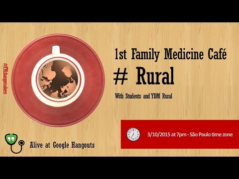 1st Family Medicine Cafe #Rural
