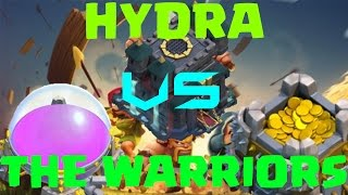 Clash of Clans Hydra VS The Warriors (CoC Clanwar Gameplay)