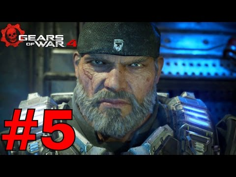 GEARS OF WAR 4 Campaign Part 5  - Act 2 The Prodigal Son/Geared Up/Plan B/The Great Escape