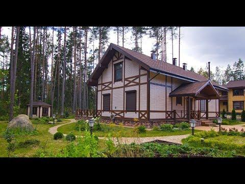 Дома, построенные из деревянного кирпича WOOD BRICK