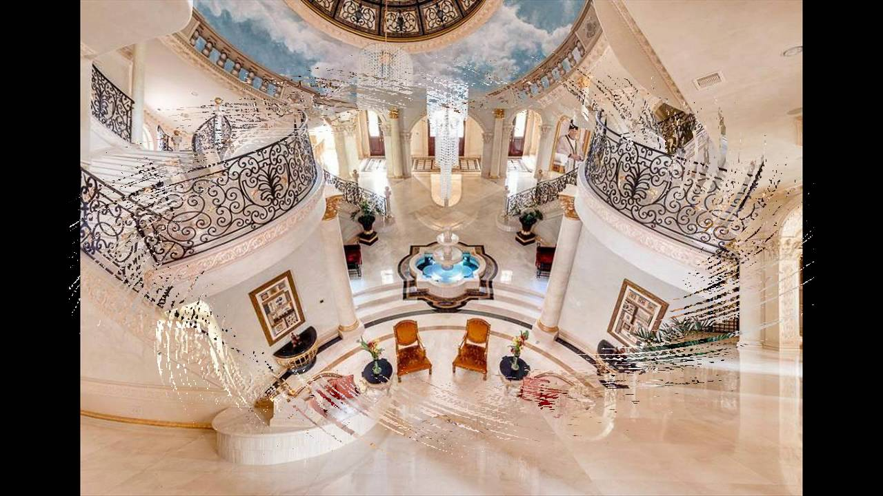 A Majestic Venetian Style Mansion In Texas Youtube