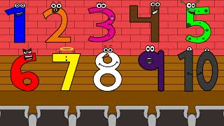 Numbers Song 1 | Sing, Learn and Count Numbers 1-10 For Kids
