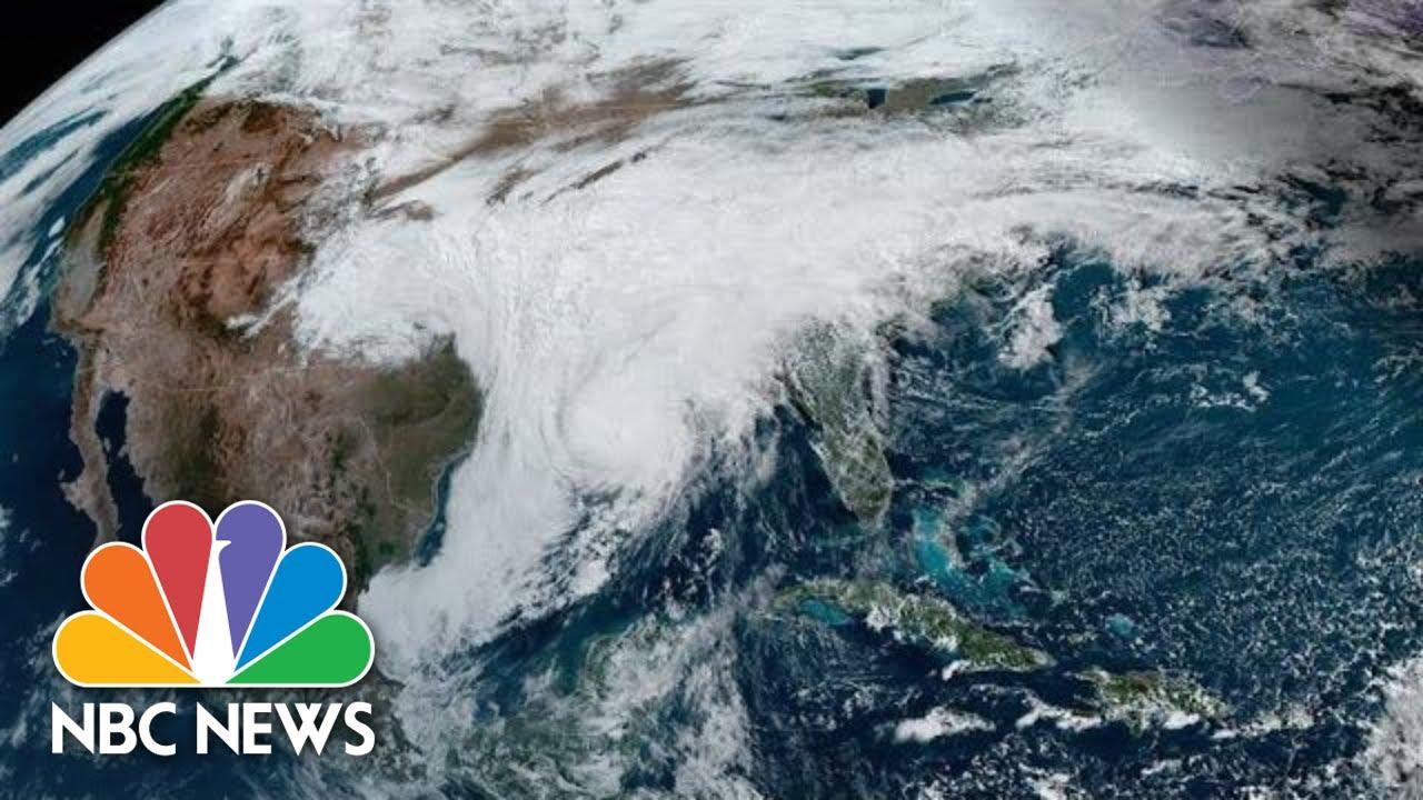 Live: Track Hurricane Zeta as it Moves Toward U.S.