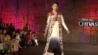 Bollywood stars at Chivas fashion show