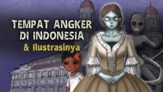 Haunted Orte in Indonesien & Illustrationen | Lawang Sewu, Mystery Stories, Cartoon ghost #horortime