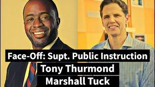 Candidates Tony Thurmond, Marshall Tuck on California's public schools