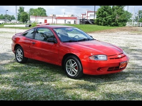 2004 chevrolet cavalier coupe for sale dayton troy piqua sidney ohio cp14008a youtube. Black Bedroom Furniture Sets. Home Design Ideas