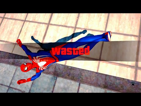 GTA 5 Epic Wasted Compilation SPIDERMAN Flooded Los Santos ep.71 (Funny Moments)
