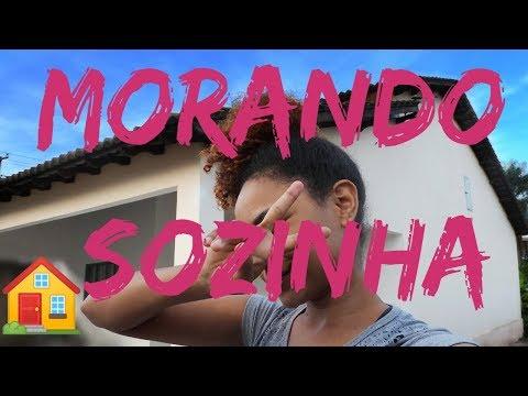 MINHA ROTINA EM CASA -  MORANDO SOZINHA