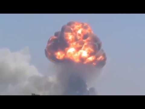 Kabul bomb blast -Afghanistan -MAY 31st 2017  VIDEO FOOTAGE