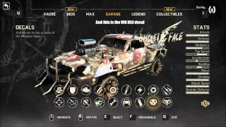 Mad Max clothes and vehicle showcase