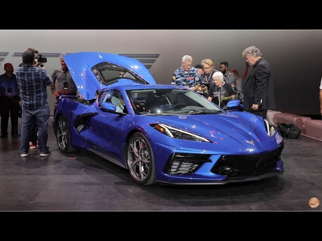 Back To The 50s Car Show 2020.Chevrolet Corvette 2020 Launches The Eighth Generation