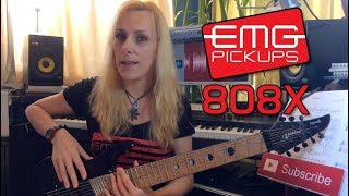 EMG 808X Pickups Review by Alexandra Zerner