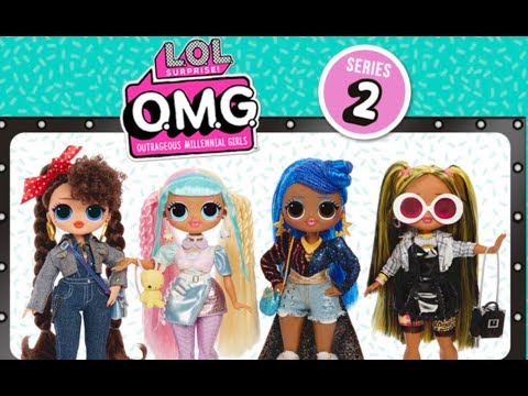 New OMG LOL Surprise Fashion Dolls Series 2 !!!