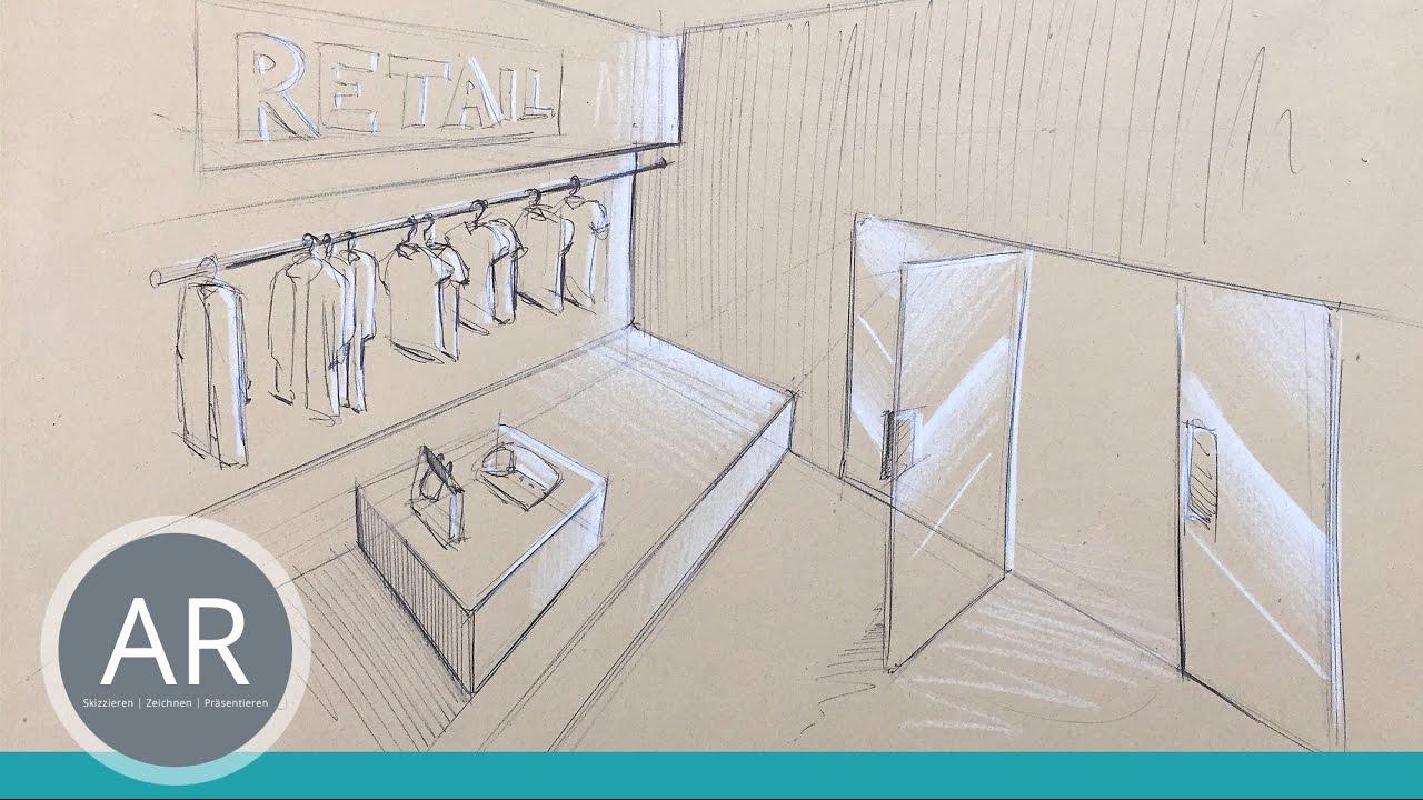 Innenarchitektur Kurse raumideen in handumdrehen skizzieren skizze innenarchitektur