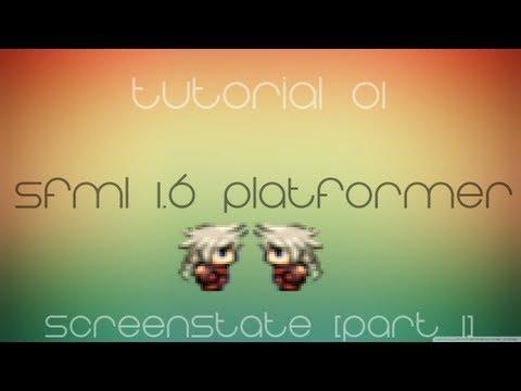C++ Sfml Platformer Made Easy Tutorial 1 - ScreenState [Part 1] thumbnail