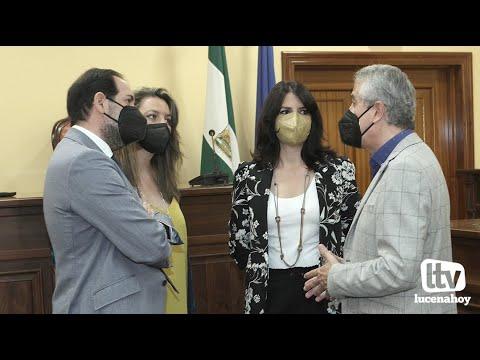 """VÍDEO: Inaugurado el nuevo """"punto de encuentro familiar"""" de la Consejería de Justicia en Lucena."""