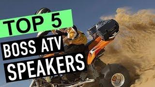 BEST 5: Boss ATV Speakers 2018