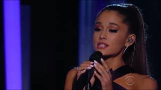 Ariana Grande Just A Little Bit Of Your Heart Live Grammy's 2015