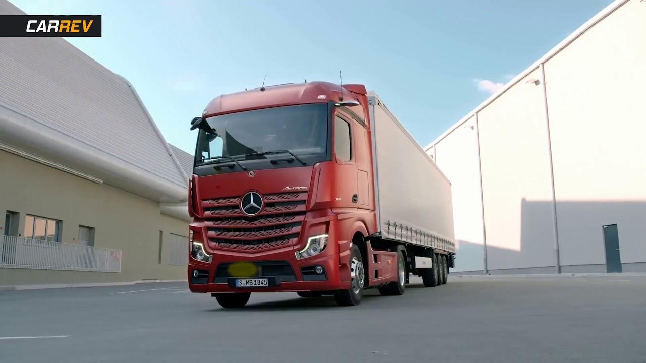 mercedes actros 2019 actros truck gains semi autonomous. Black Bedroom Furniture Sets. Home Design Ideas