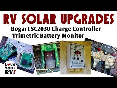 Bogart SC2030 CC and Trimetric Battery Monitor Install