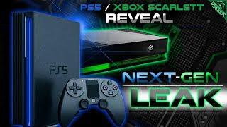 RDX: Xbox Scarlett Leak! PS5 Reveals Games, Tech, Release Date! Halo infinite News, Xbox Games