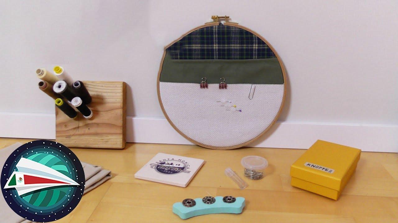 Orden en tu puesto de costura | Bonitas ideas | Aprende a coser