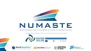 """Progetto """"Numaste - Nuovi materiali per la sicurezza al fuoco in ambiente navale"""""""