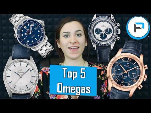 Joanna's Top 5 Omega  Watches - Seamaster, Speedmaster, De Ville