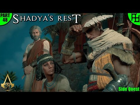 Shady's Rest Assassin's Creed Origins Side Quest | Gameplay / Let's Play | Part 48