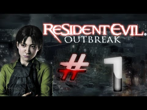 Resident Evil: Outbreak - Outbreak - Detonado (Walkthrough) Parte 1 HD