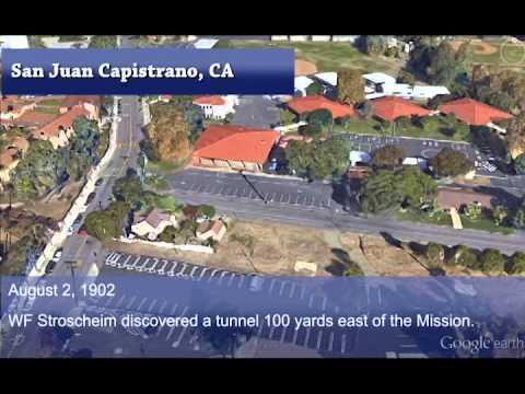 San Juan Capistrano Mission Timeline Map