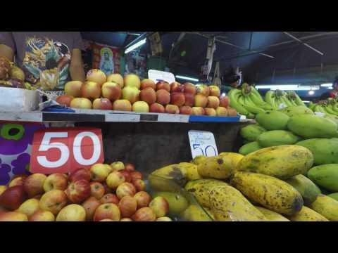 Iu Mienh at Krabi city market Thailand