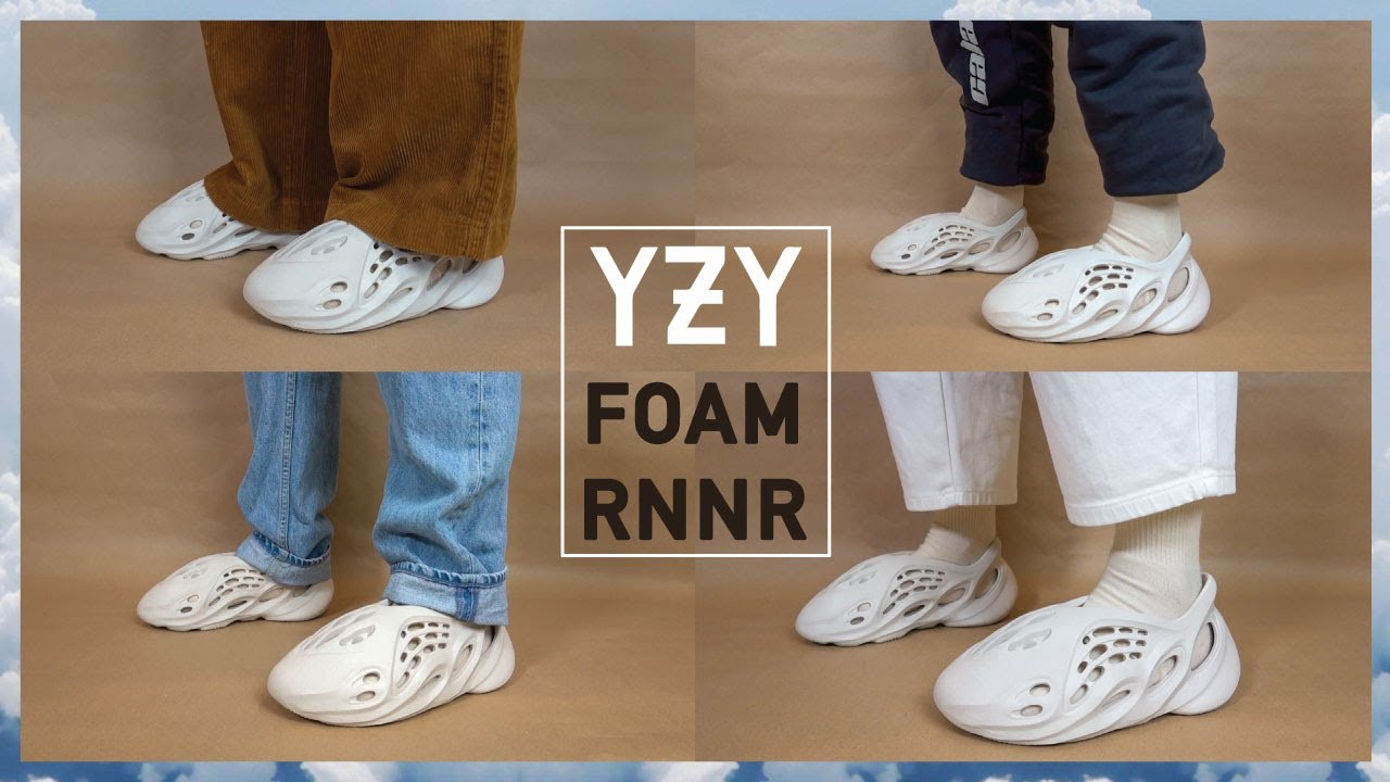 What Are Those? YEEZY Foam Runner Review + Outfit Ideas