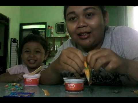 Kunyah Ice Cream Wall's