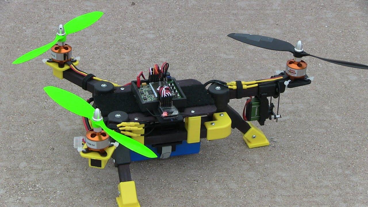 QuadLugs Mini XL Tri-Copter Frame Kit - new build maiden (yellow ...