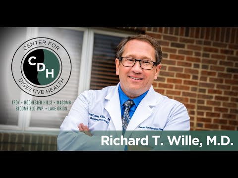 Richard T. Wille, MD - The Center For Digestive Health