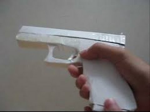 Paper Pistol Instructions
