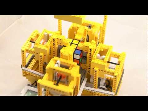 Not just another LEGO/Nokia Rubik's cube solver!  This one has more ARM's!...