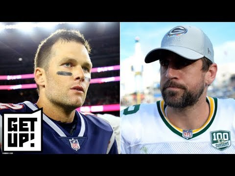 Tom Brady vs  Aaron Rodgers: Who is the QB GOAT? | Get Up!