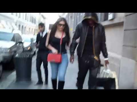 Paul Pogba shopping in Milan