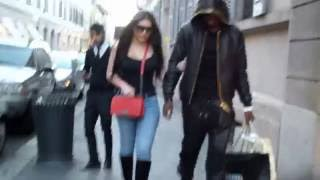 Paul Pogba shopping in Milan