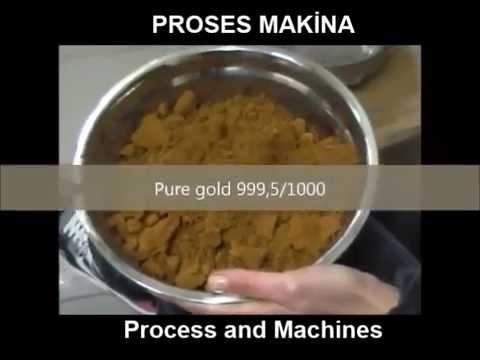 Proses Makina Gold Refining Plant5 kg Capacity