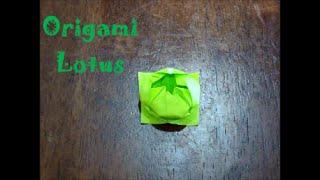 Origami Lotus (Tutorial) Thumbnail