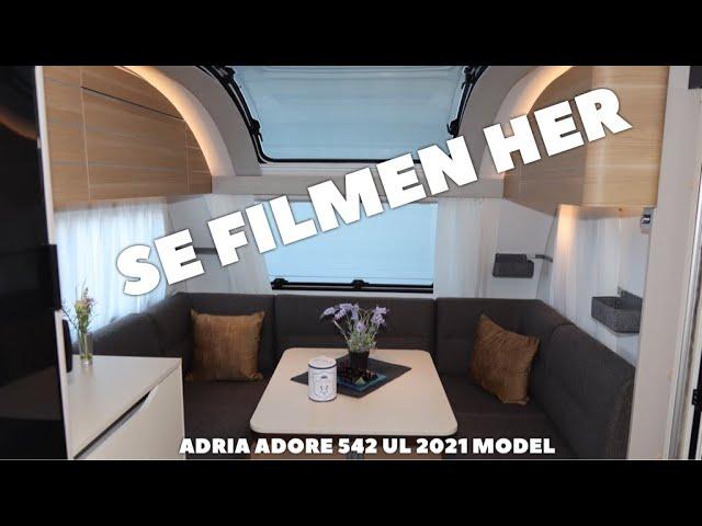 Adria Adora 542 UL 2021 model (Reklame)
