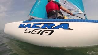 Nacra 500 catamaran