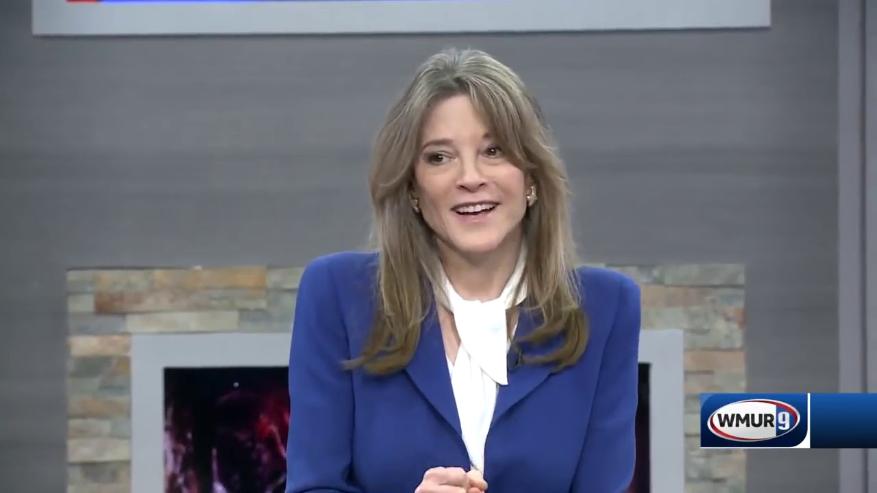 Marianne Williamson on Reparations - WMUR Conversation with