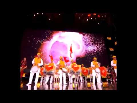 Dhol Tasha - London -Wembley Stadium Dhol Tasha Performance