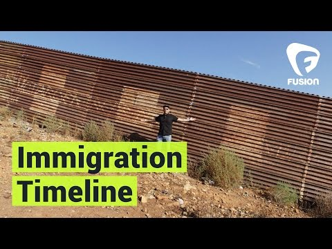 A Timeline of U.S.-Mexico Immigration
